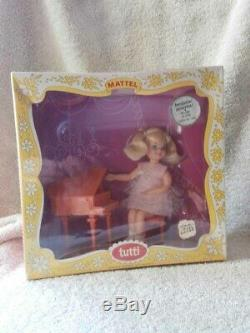 ULTRA RARE 1965 NRFB Vintage TUTTI Doll MELODY IN PINK FACTORY SEALED CELLO