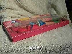 ULTRA RARE 1971 NRFB Mattel Vintage TALKING BUSY BARBIE Doll #1195 MOD Era