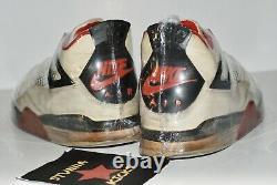 ULTRA RARE 1989 Nike Air Jordan 4 FIRE RED size 12 ORIGINAL VTG kaws pe unc bred