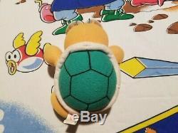 ULTRA RARE 1996 Super Mario 64 Koopa the Quick Nintendo Plush Toy Doll VTG HTF