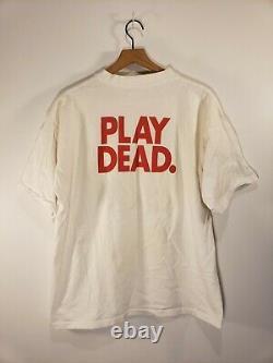 ULTRA RARE 90's Vintage USA 1992 Grateful Dead T-Shirt Men's (XL) PLAY DEAD