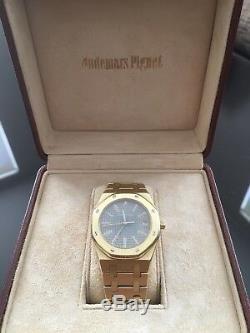 ULTRA RARE Audemars Piguet Royal Oak 18k Yellow Gold Vintage 80's Ref. 6023BA