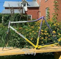 ULTRA RARE CINELLI LIMONGI TUBING Columbus Track Bike Vintage Bicycles FRAMESET