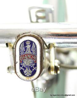 ULTRA RARE COLLECTOR'S Vintage BIKE BIANCHI RODI CAMPAGNOLO CAMBIO CORSA
