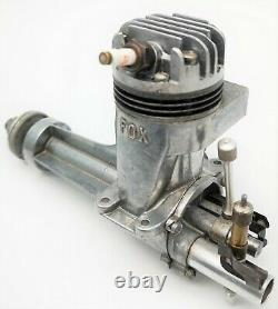 ULTRA RARE Fox 49 long shaft vintage ignition model aircraft engine (NOT 59)