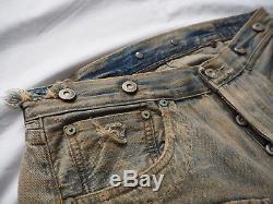 +ULTRA RARE Levis Vintage Clothing 1918'Homer Campbell' Celebration Jeans NEW+