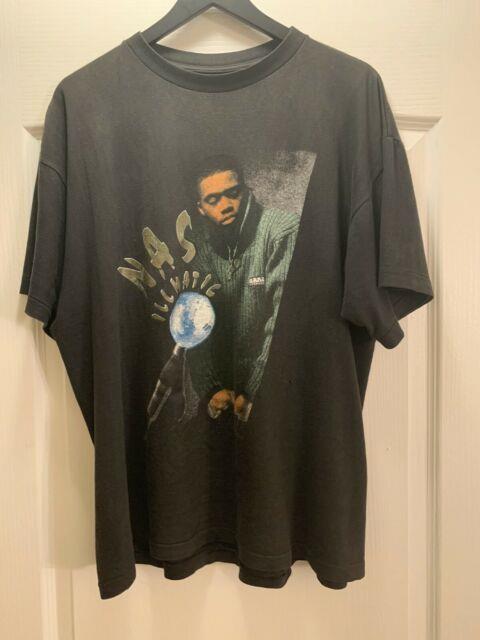 Ultra Rare Nas Illmatic Rap Tee Rap Shirt Wu Tang Tupac Mobb Deep