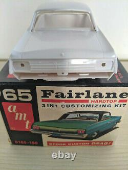 ULTRA RARE ORIGINAL AMT ANNUAL 1965 FORD FAIRLANE Model Car Kit, GORGEOUS
