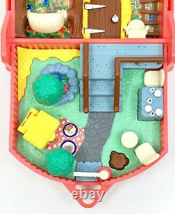ULTRA RARE Polly Pocket FOREVER FRIENDS 1995 Picnic COMPLETE Bluebird Vintage