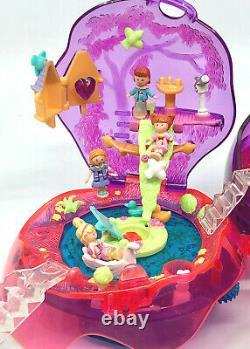 ULTRA RARE Polly Pocket Jewel Magic Ball 1996 100% COMPLETE Bluebird Vintage