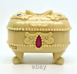 ULTRA RARE Polly Pocket Jewel Secrets 1997 Jewelry Case Gems Bluebird Vintage