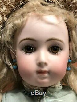 ULTRA RARE SIZE 9, 20 Antique Jumeau Triste Bebe