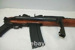 ULTRA RARE VINTAGE 1970's STERM-RUGER AC556F. 223 CAL. PROP GUN METAL WOOD MINT