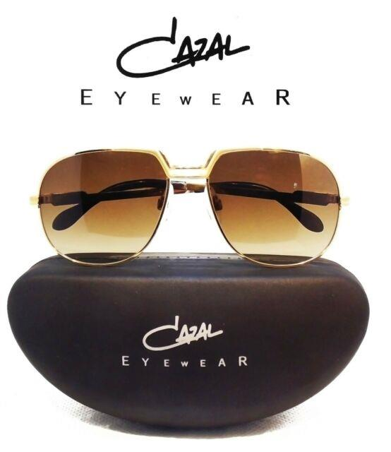 Ultra Rare Vintage 70s Cazal Sunglasses 100% Authentic Round Oval 55% Off