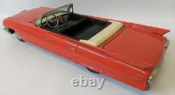 ULTRA RARE Vintage 17 1961 Cadillac Fleetwood 62 Convertible, Shioji SSS Japan