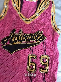 ULTRA RARE Vintage Christian Dior by John Galliano Pink Tank Top Adiorable 69 S