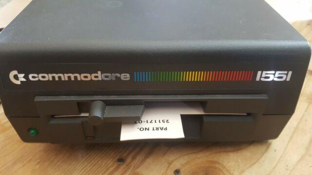 Ultra Rare Vintage Commodore 1551 Floppy Drive North American 117v Nmib