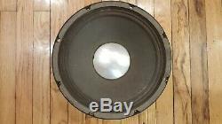 ULTRA RARE Vintage Fender 12F Speaker ElectroVoice EV EVM 12L JBL D120 EXCELLENT
