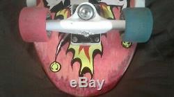 ULTRA RARE Vintage John Lucero complete skateboard