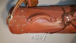 ULTRA RARE Vintage MCM Leather Golf Bag