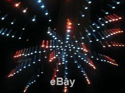 ULTRA RARE Vintage Moving Pattern Simulator Firework Light Black Box 1962 Groovy