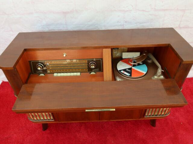 Ultra Rare! Vintage Siemens Stereo Console / Cabinet Model Tr68