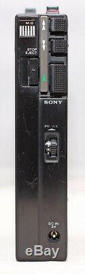 ULTRA RARE Vintage SONY TCM-100B Stereo Cassette-Corder, SERVICED, NEW BELTS