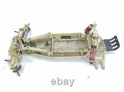 ULTRA RARE Vintage Traxxas 1/10 2wd RC Parts Car with RPM Moulded Chassis