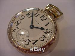 ULTRA RARE WALTHAM No 999 16s 21-jewel 5 STAR POCKET WATCH 3 KNOWN