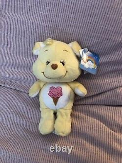 ULTRA Rare 20th Anniversary Care Bear Cousin Treat Heart Pig