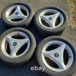 ULTRA Tri-Spoke VINTAGE Wheels 15X6.5 4 Lug universal 4X100 4X114.3 RARE