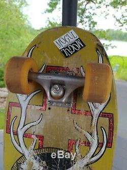 ULTRA rare Santa Cruz Jeff Kendall Jagermeister natas Skateboard vintage deck