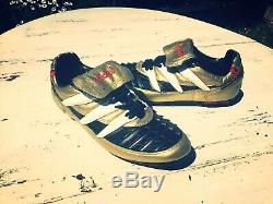 Ultra RARE Vintage Adidas Predator Rapier 1994 Original Gold Uk 8.5