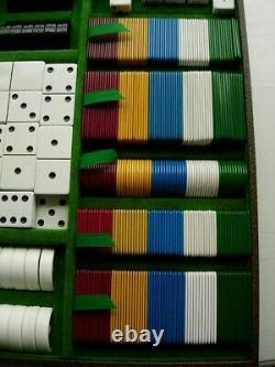 Ultra RARE Vintage GUCCI Game Set Poker Chess Checker Cards Dominoes Dice Decor