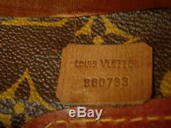 Ultra RARE Vintage LOUIS VUITTON Hat Box Chapeaux Boite Luggage Suitcase Carryon