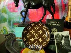 Ultra RARE Vintage LOUIS VUITTON Longwy Bowl Display Ashtray Jewelry Dish LV