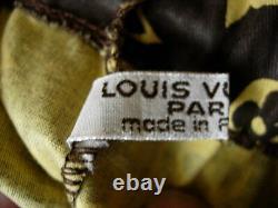 Ultra RARE Vintage LOUIS VUITTON Wine Bag LV Textile Barware Gift Tote Accessory