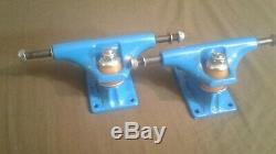 Ultra RARE Vintage NOS THUNDER Freestyle skateboard trucks 6 7/8 NEW Blue