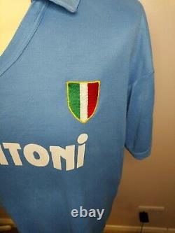 Ultra Rare 100% Original 1987-1988 Napoli Home Shirt Large Men's Vintage Grail
