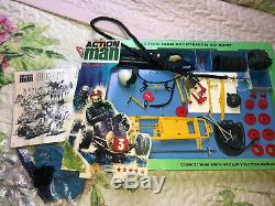 Ultra Rare 1960s Vintage Action Man Go kart In Repro Box And Original Star Card