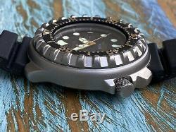 Ultra Rare Citizen Vintage Diver 800m Titanium 48m Professional 5503-f50212 Look