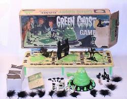 Ultra Rare Green Ghost Board Game VTG 1965 Transogram USA 100% Complete 3905 HTF