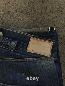 Ultra Rare Levis Vintage Limted Edition 1st Release Big E Selvedge Jeans W36 L38