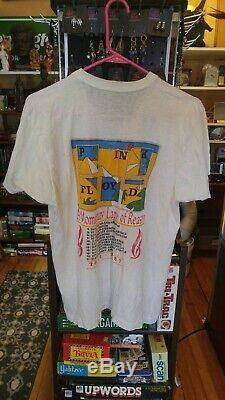 Ultra Rare Lot Pink Floyd Shirt Late 80s 1987 Tour Concert Shirt Vintage large