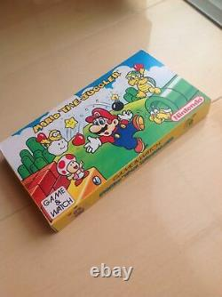 Ultra Rare Nintendo Game&Watch Mario The Juggler MB-108 Vintage 1991 LCD