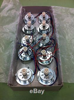 Ultra Rare Nos Vintage Td 145/150/160 Etc Motor 117v/60 Hz With Pulley