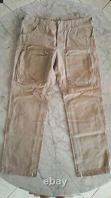 Ultra Rare Stylish HELMUT LANG Beige Vintage Inspired Pants. Vintage Collection