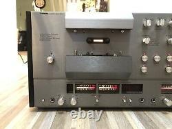 Ultra Rare Tandberg Tcd-3004 3 Head Dolby Vintage Cassette Deck! Wood Panels