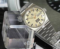 Ultra Rare! Tissot Visodate Pepsi Dial Vintage Automatic 15Jewels Men's Watch DD