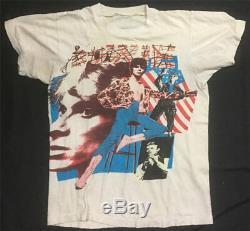 Ultra Rare! VTG David Bowie Photo Art Shirt Ziggy Stardust VTG Pop Clash Prince